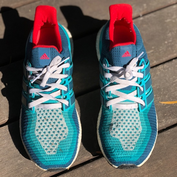 5d8dc2b40 adidas Other - OG Ultra Boosts Miami Dolphins Light Blue